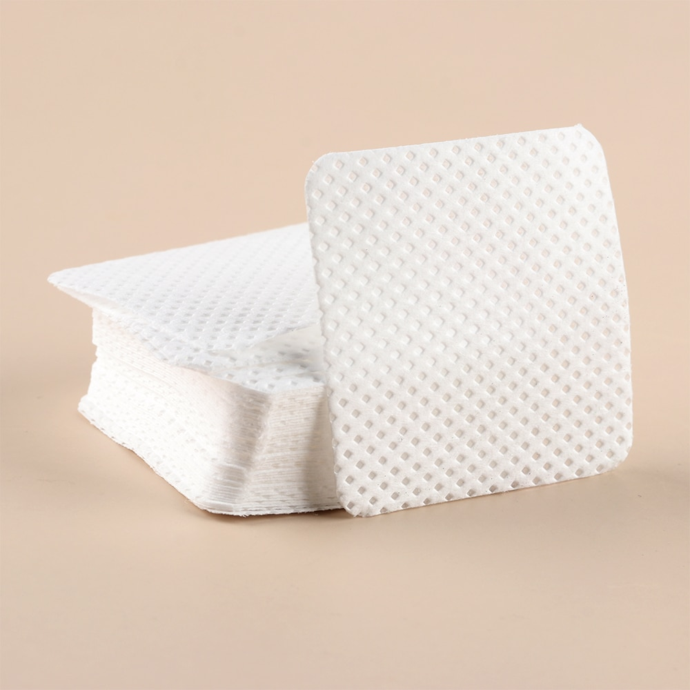 Nova moda 200 pçs sem fiapos meltblown toalhetes de unhas almofadas de algodão papel arte do prego manicure polonês removedor cleanernail polonês remoção