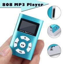USB Mini MP3 Player LCD Screen Support 32GB Micro SD TF Card Speaker stylish design Sport MP3 Music