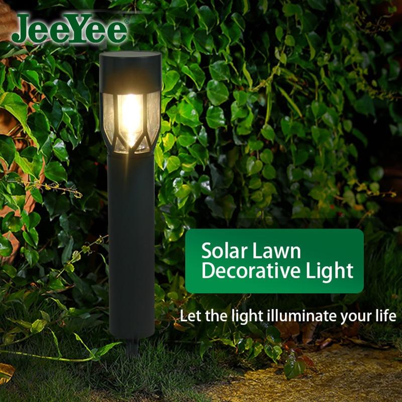 JeeYee Brand Solar Lawn Lamp Jardin Outdoor Lights LED Light Garden Lamps Waterproof For