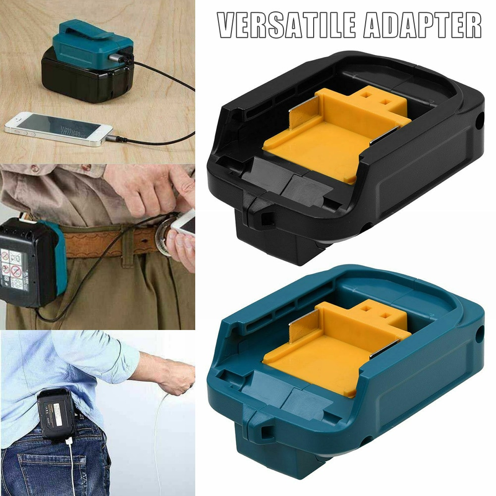 2 porta usb carregador de telefone adaptador bateria para makita 18v 14.4v bl1830/1430/1445/1845 wxv venda
