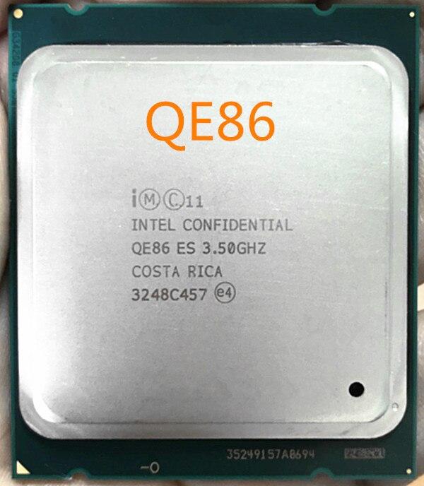 Intel Xeon CPU prozessor E5-2643V2 ES QE86 4 Kerne 25M LGA2011 E5 2643V2 freies verschiffen schnelle schiff heraus QE86