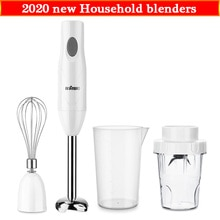 Mixer mixer elektrische baby lebensmittel maker Tragbare Mixer tasse 4 in 1 set für Küche Schneebesen Becher Entsafter Mixer Smoothie für home