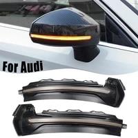for audi a3 8v s3 rs3 2013 2020 led dynamic car lights blinker side mirror marker turn signal led light lamp accessories