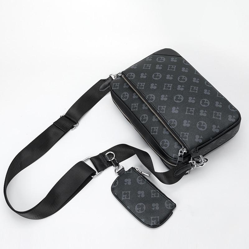 2020 New Fashion Luxury Brand Designer Messenger Bags for Men 3-in-1 Messenger Handbags Shoulder bags vintage clutch bags