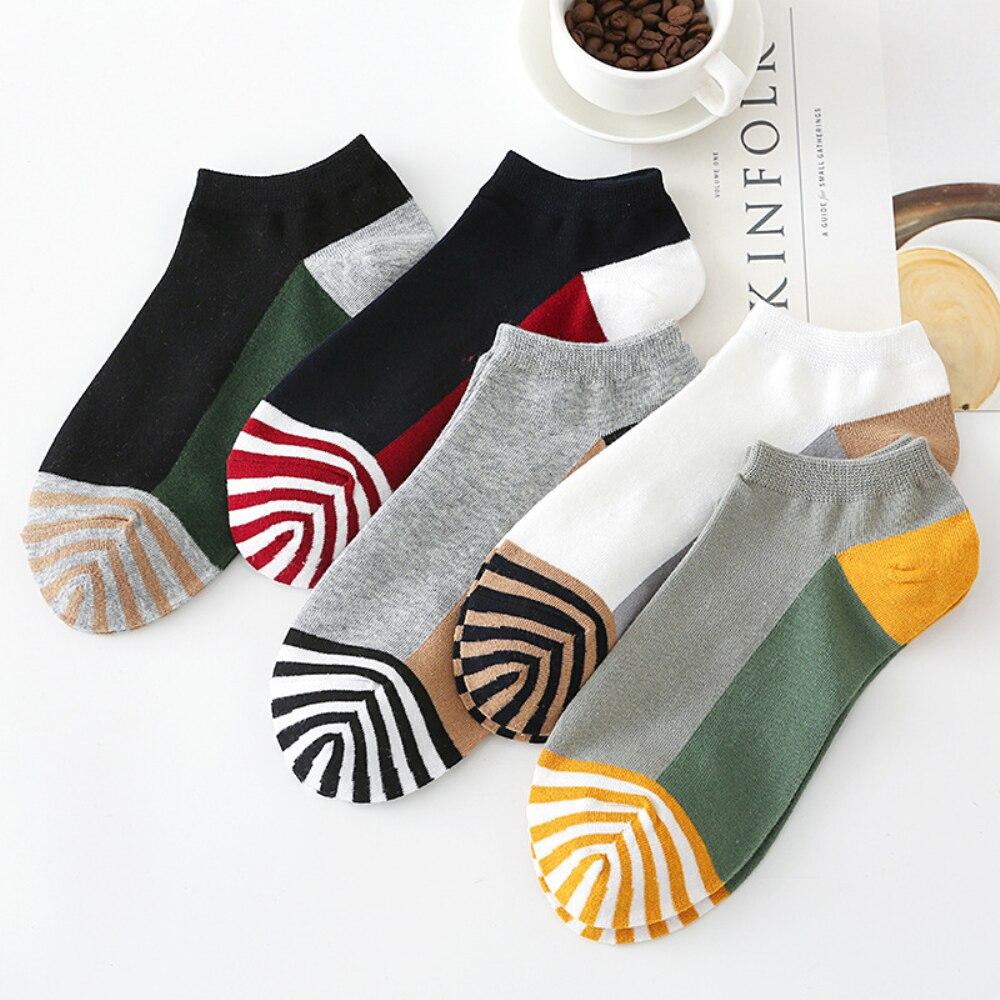 3 пары/Лот мужские носки мужские удобные мягкие хлопковые носки до щиколотки мужские модные мужские бриджи для мальчиков