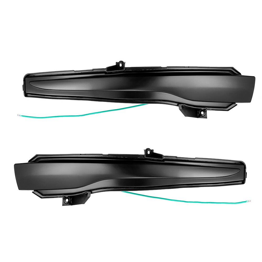 2 piezas para Mercedes-Benz Clase C W205 E W213 S W222 W217 dinámica señal intermitente secuencial Indicador de espejo lateral Luz