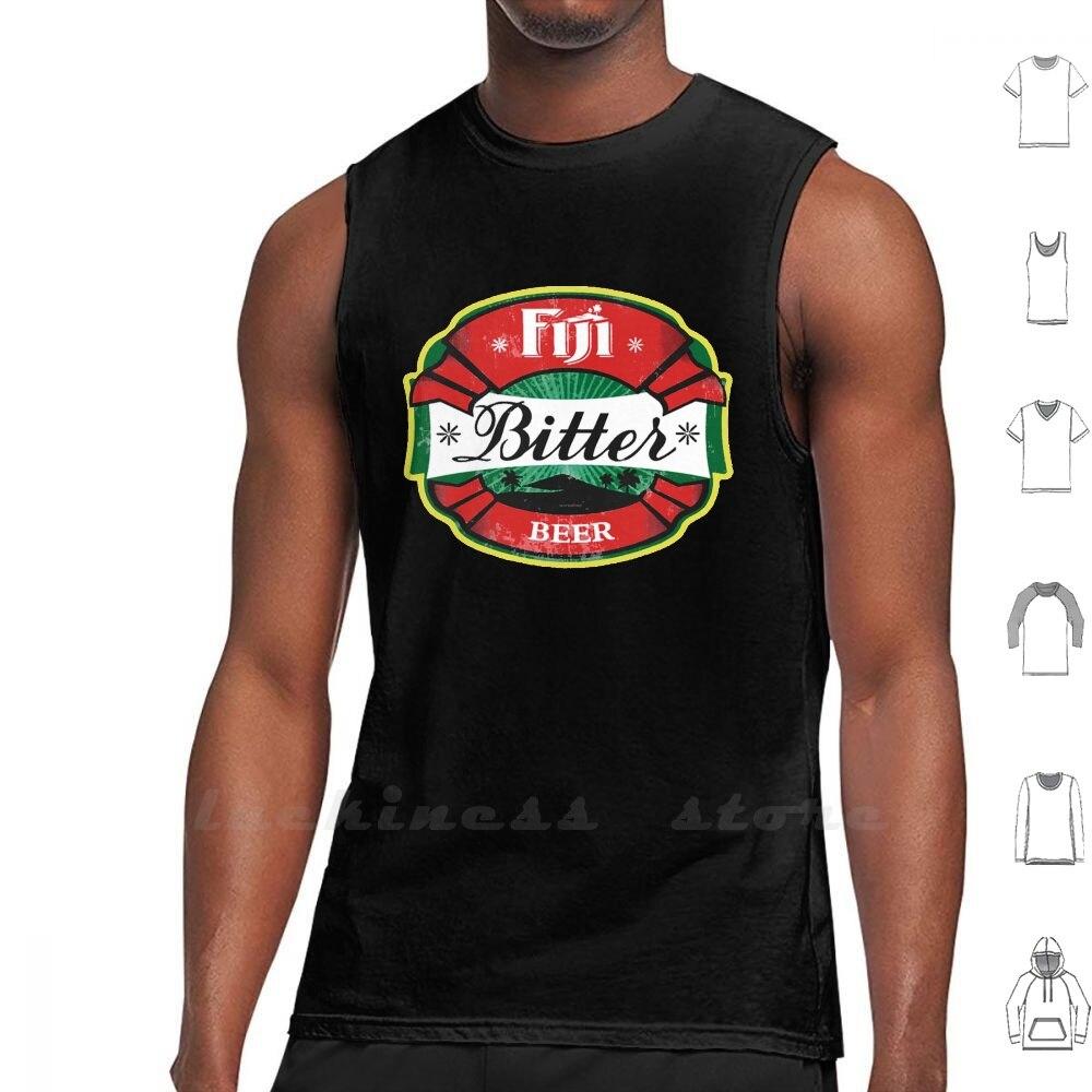 Fiyi amarga camiseta sin mangas hombres mujeres algodón Rugby Fiyi viajes de las Islas Fiyi agua