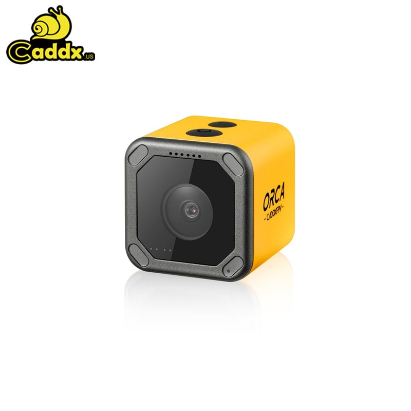 Caddx オルカ 4 18k hd 記録 fov 160 度の wifi 手ぶれ補正 dvr アクションカムミニ fpv カメラ fpv レースドローン quadcopter rc