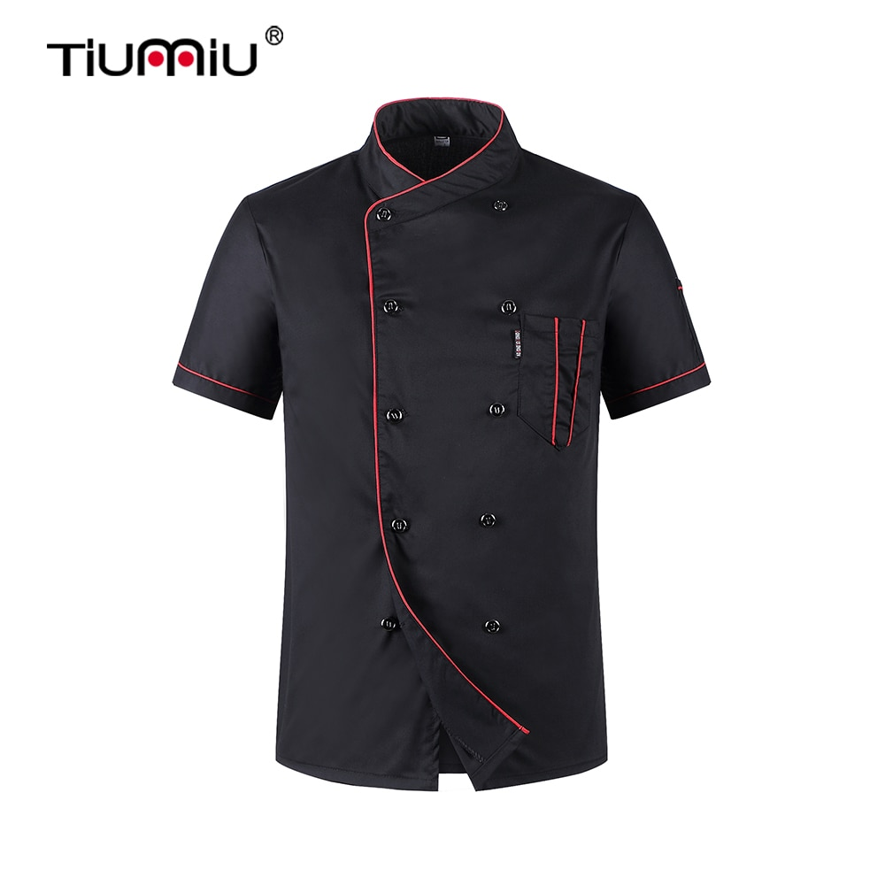 Chef Jacket Wholesale Head Chef Uniform Restaurant Hotel Kitchen Cooking Clothes Catering Foodservice Chef Shirt Apron Hat