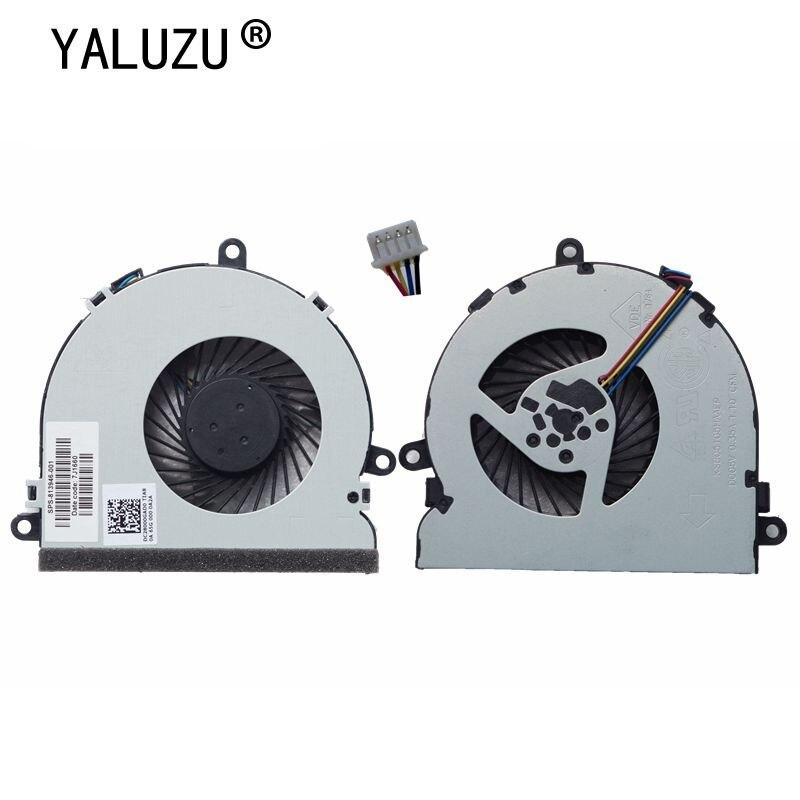 YALUZU Nueva CPU ventilador de refrigeración para HP 15-AC 15-AF 250 g4 15-ac121TX 15-AC121DX 813946-001 DC28000GAF0FCC2 DFS561405FL0T