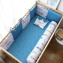 Baby Bumpers In The Crib Protector For Newborns Nordic Baby Room Decor Children Thick Soft Cot Bumper For Boy Girl Infant Bed