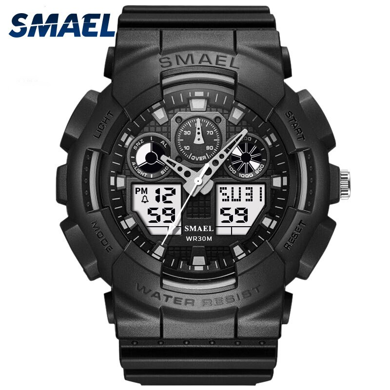 SMAEL1027 Watch Student Multifunctional Sports Electronic Watch Fashion Couple Water