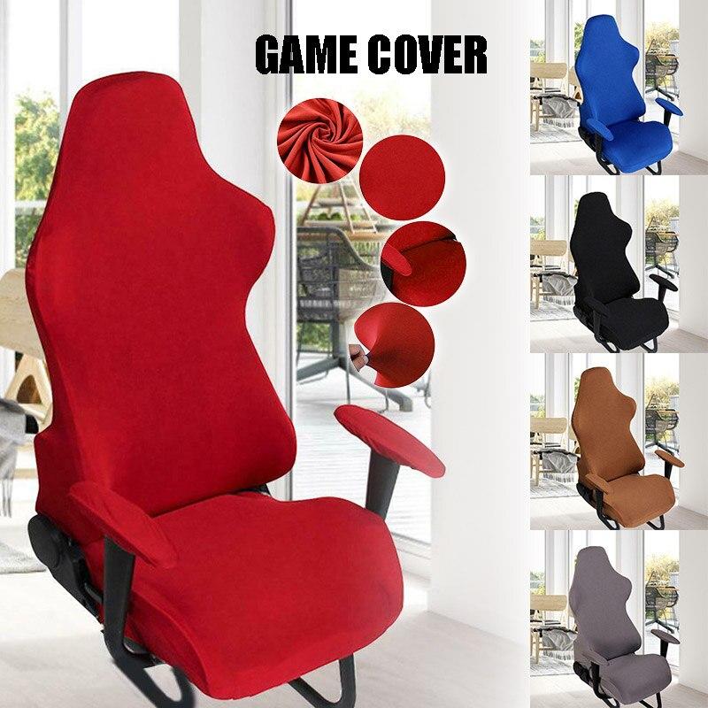 Nuevo caliente cubierta de la silla de sala de juegos de deportes de la silla giratoria funda con reposabrazos cubierta SMD66