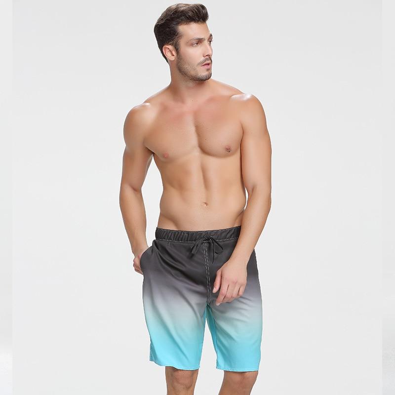 Мужские Пляжные дышащие быстросохнущие шорты для серфинга размера плюс, пляжные шорты для серфинга, отдыха, развлечений, мужские повседнев...