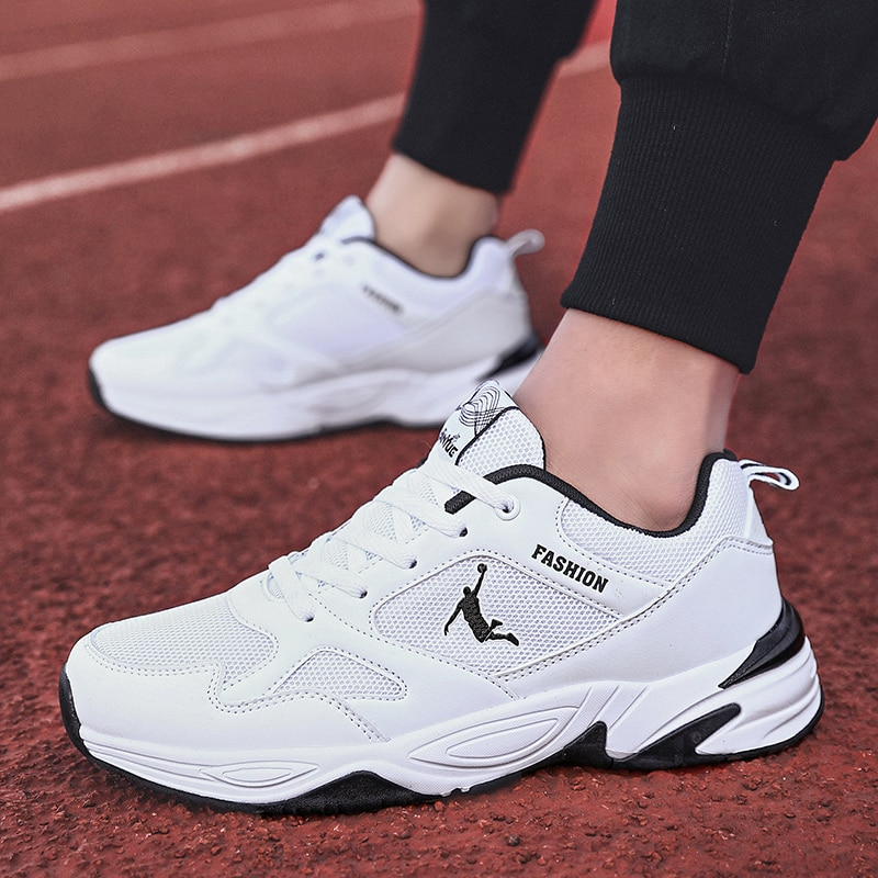 Stylish Running Shoes for Men  Zapatillas Hombre Mesh Cushion Sneakers Walking Leisure Jordan Running Zapatills Sneakers Male