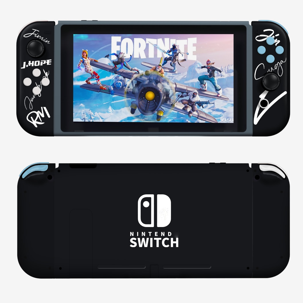 Switch Joy Con Replacement Housing Shell for Nintendos Switch Console Joy-Con ABXY Direction SL SR Buttons Full Set Accessiores