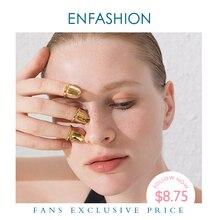 ENFASHION Punk blanc clou anneau en acier inoxydable Simple bagues pour les femmes accessoires minimaliste mode bijoux cadeau R194021