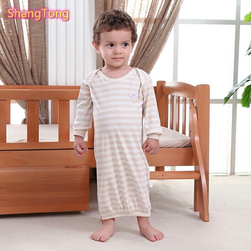 2 предмета хлопковые платья наряды для новорожденных девочек и мальчиков