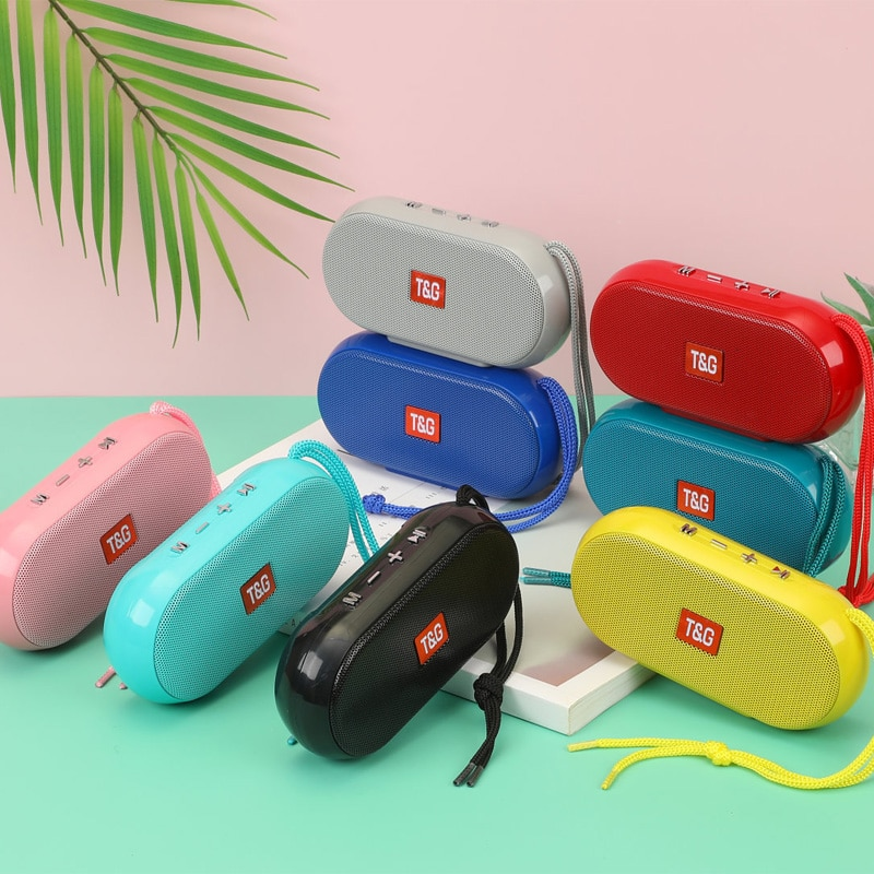 Minialtavoz Portátil con Bluetooth, Radio FM, USB, TF, Boombox, reproductor De música