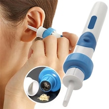 Electric Cordless Ear Pick Safe Vibration Painless Ear Cleaner Remover Spiral Ear Cleaning Device Di
