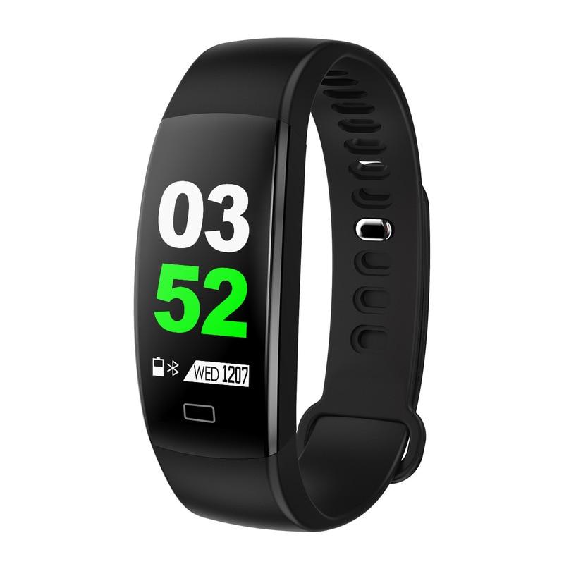 Pulsera inteligente deportiva F64HR, pulsera inteligente deportiva con pantalla a Color, deportes de equitación, Bluetooth, control del ritmo cardíaco y la presión sanguínea