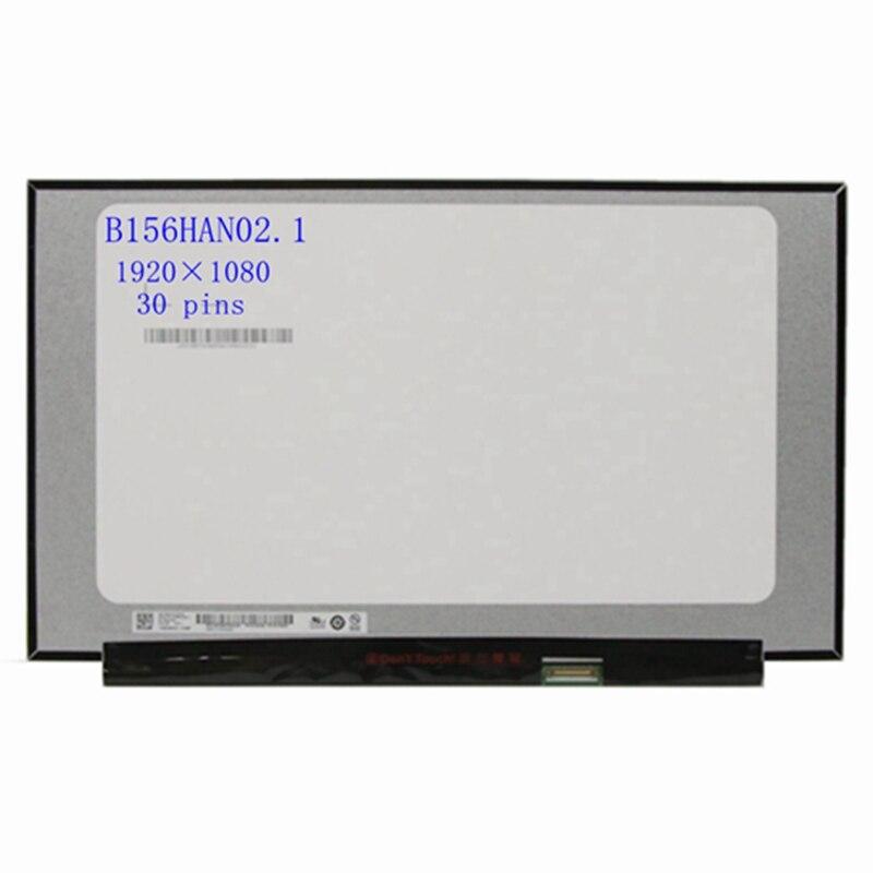 15.6 بوصة B156HAN02.1 صالح B156HAN02.2 B156HAN02.3 NV156FHM-N48 شاشة لاب توب Lcd عرض مصفوفة 30 دبابيس edp FHD 1920*1080
