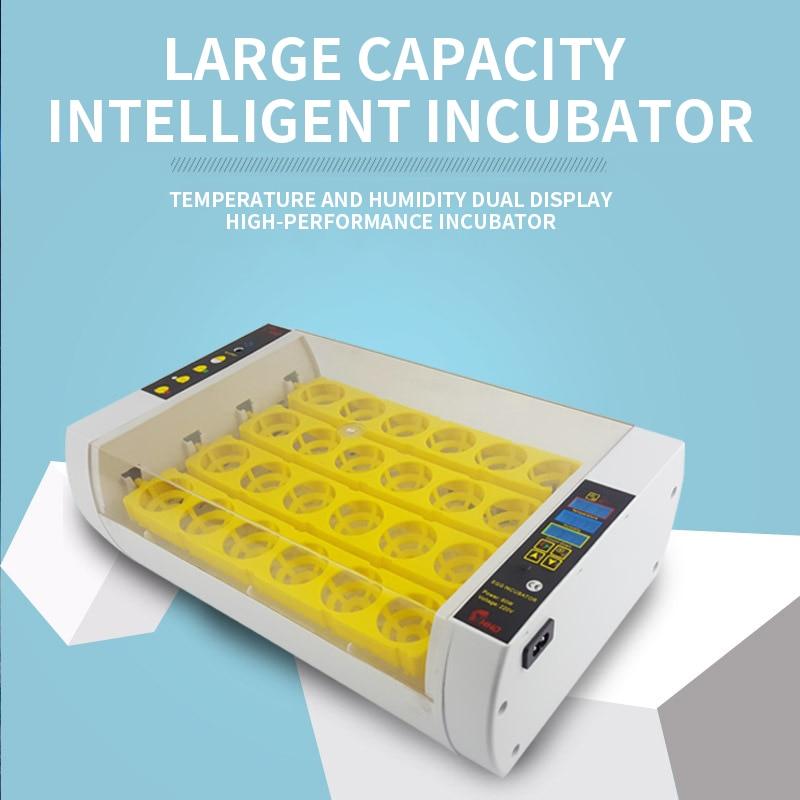 casa pequena incubadora inteligente frango icubator pato ganso codorniz incubadora