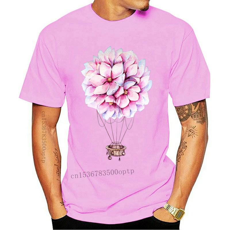 New Dad and Son Clothes Family Look Tshirt Flower T-shirts Mama and Daughter Clothes Hot Air Balloon