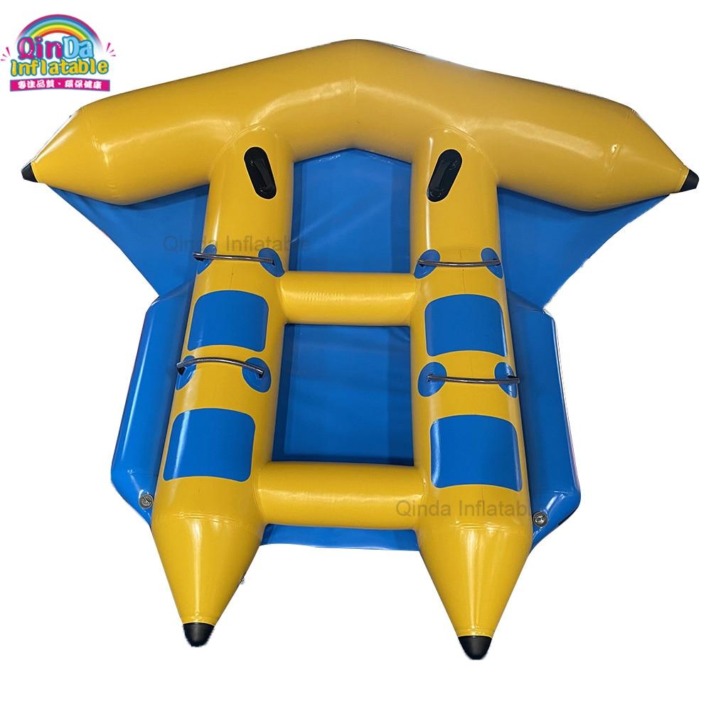 نفخ تحلق الموز Flyfish قارب نفخ المياه طوف قارب ذات جودة عالية