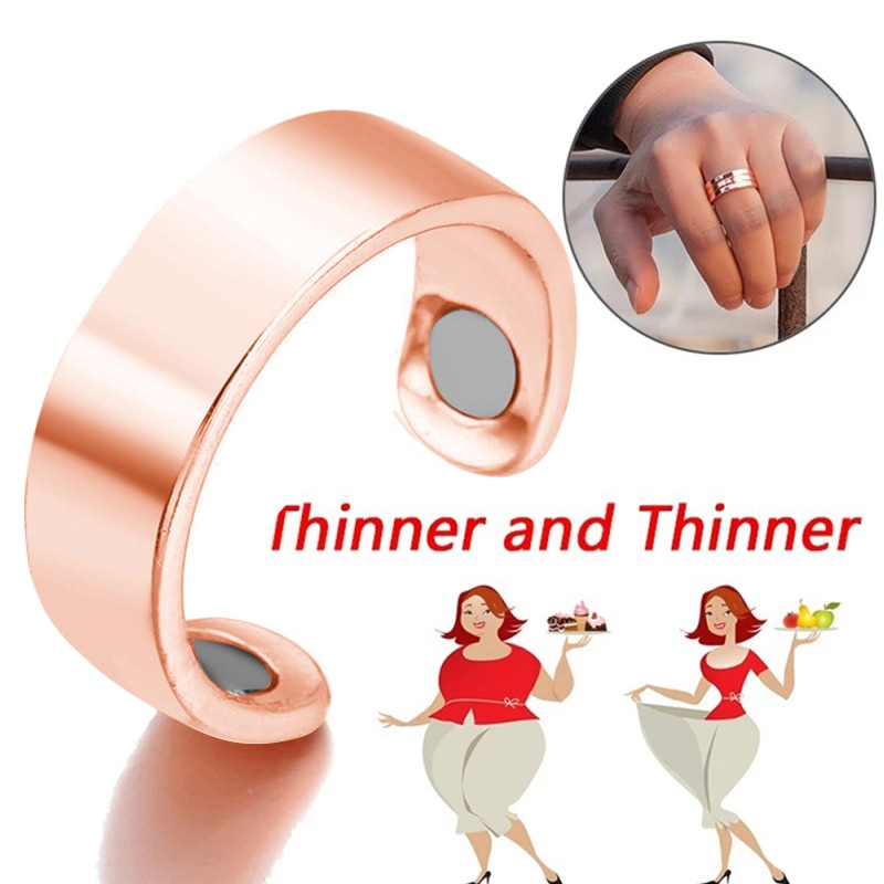 AliExpress - Magnetic Slimming Rings Natural Fat Burning Slimming Ring Magnetic Stimulation Acupoint Burning Fat Slimming Body Health Care