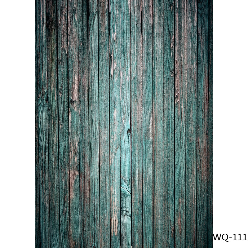 SHENGYONGBAO Wood Floor Texture Photography Backdrops Props Vintage Newborn Baby Portrait Photo Background 21318WQ-03