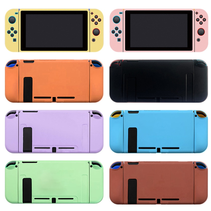 1PC Silicone Soft Host Protective Skin Cover For Switch NS Mini Game Console Controller Case Protector Shell Protection