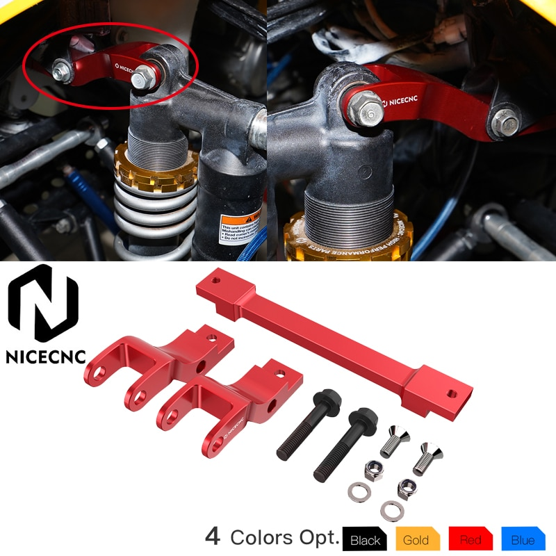 NICECNC Front Lowering Kit For Yamaha Raptor 700R YFM700R 2016-2020 Raptor 700 YFM700 2006-2011 2013-2020 ATV models With OEM