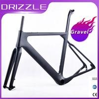 Carbon Gravel Bike Frame aero Road or MTB frame 142x12mm disc brake Cross country Gravel Ultralight Carbon Bicycle Frame parts