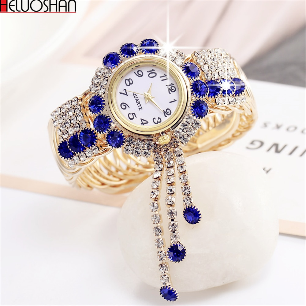 2021 Top Brand Luxury Rhinestone Bracelet Watch Women Watches Ladies Wristwatch Relogio Feminino Reloj Mujer Montre Femme Clock reloj hombre luxury women watches diamond ladies watch casual quartz wristwatch for women clock relogio feminino montre femme