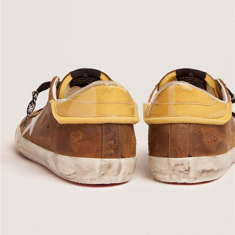 2021 Autumn/winter New First Layer Cowhide Retro Old Parent-child Dirty Shoes Fashion Non-slip Children's Casual Shoes  QZ132 enlarge
