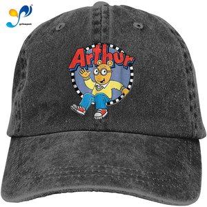 Arthur Non Distressed Arthur Waving Logo Cowboy Cap Baseball Hat Casquette Headgear