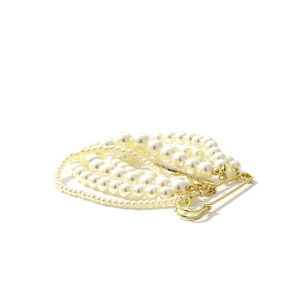 Yhpup Moda Luxo Elegante Imitação De Pérolas Broches Feminino 5 Número Strass Broche Para Feminino Terno Roupas Acessórios 2019 Broches Aliexpress