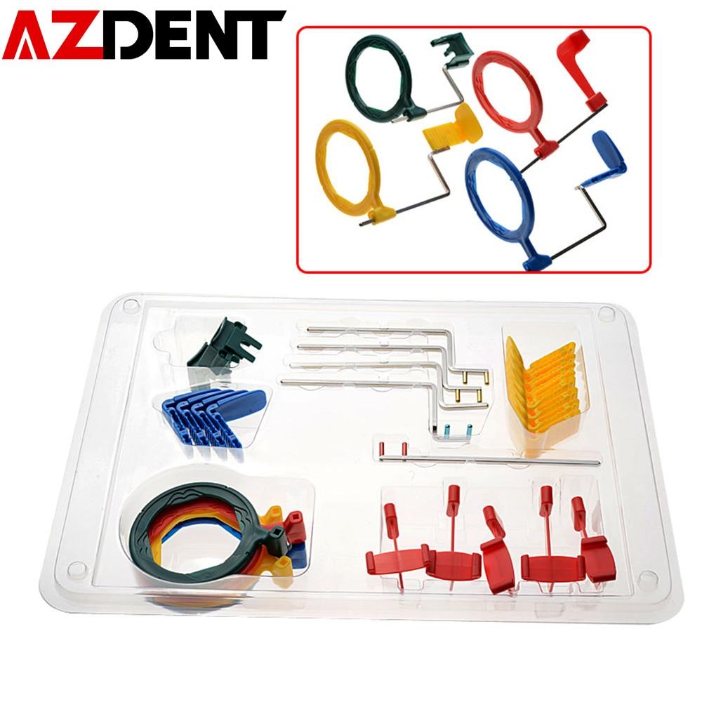 AZDENT-فيلم الأشعة السينية داخل الفم ، نظام تحديد المواقع ، ملون بالكامل ، FPS3000