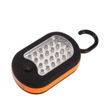 27 LED Super brillante compacto impermeable luz de trabajo para el hogar Bivouac pesca Camping senderismo linterna de lámpara de tienda linterna w/