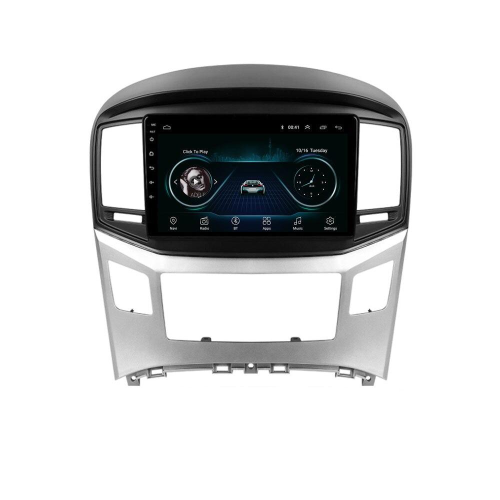 "Reproductor de DVD y navegación GPS 4G LTE con Android 10,1 de 9 ""H1 para HYUNDAI, Grand Starex, viajes en H-1, H-1 de carga Multimedia para coche"