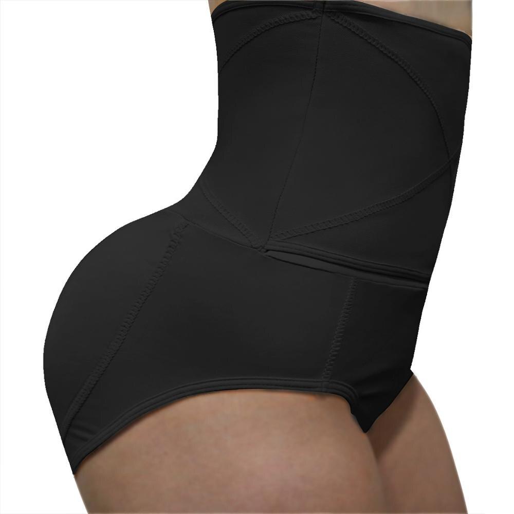 ZYSK mujeres de alta cintura levantador de trasero Control de barriga pantis potenciador de cadera acolchado Invisible bragas falso trasero adelgazamiento Panty