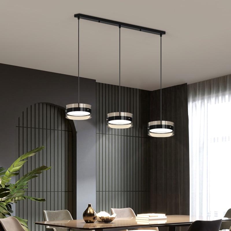 Deyidn الشمال مطعم الثريا Loft الصناعية نمط معلقة ضوء ثلاثة رئيس قلادة حامل مصباح LED الإضاءة فندق فيلا