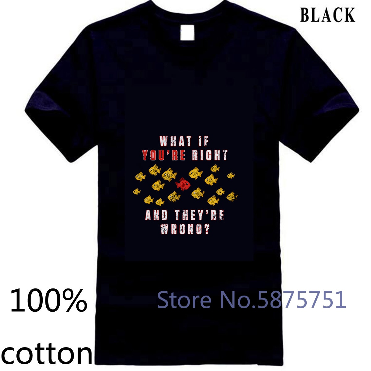 ¿Qué pasa si tienes razón y son incorrectos? -Coen TV película Fargo hombres camiseta para hombres camiseta tops camisetas 100% algodón Hombre