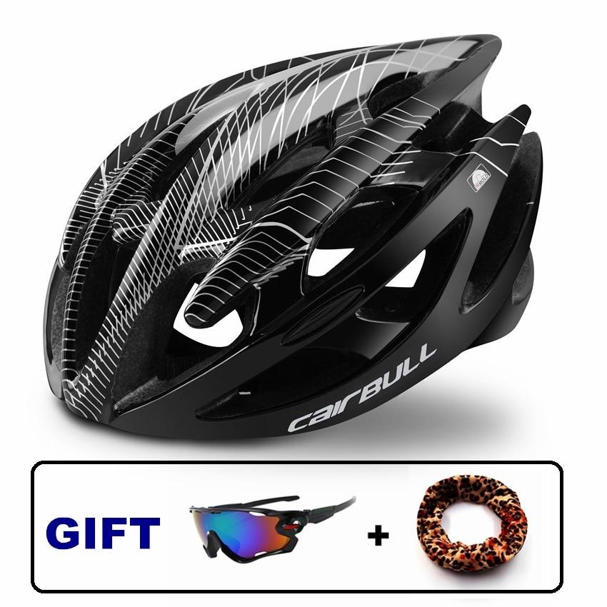 Casco de bicicleta con estilo sombrero de seguridad en Ciclismo hombre mujer MTB cascos de bicicleta de carretera protegidos para bicicletas gorra TT Casco Ciclismo