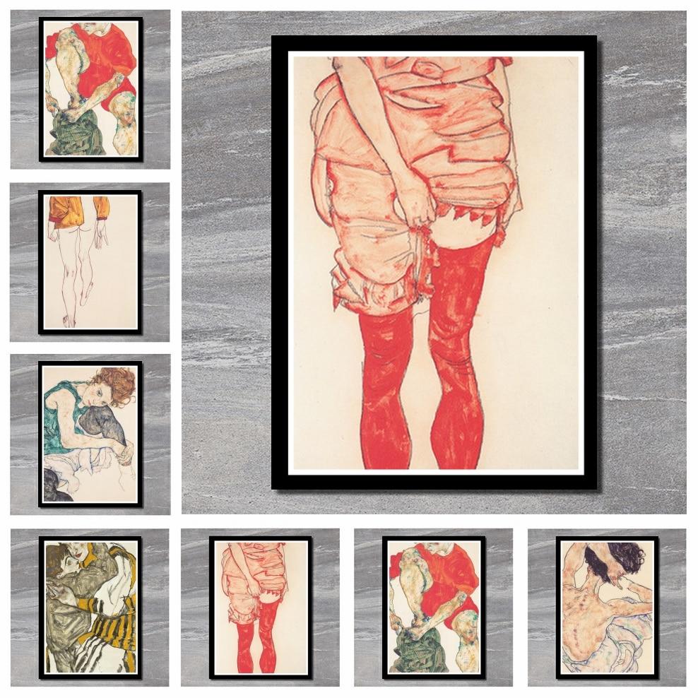 Cartaz da pintura da cópia da figura do esboço da cor perfeita do corpo de jl, fotos da parede cartaz clássico do filme adesivos de parede