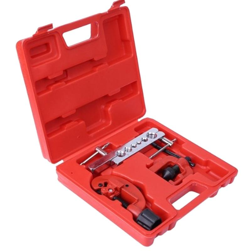 ¡TOP!-3 uds. De tubo de cobre expansor ditador refrigerador aire acondicionado herramientas de reparación Kit de abocardado coche herramienta manual de reparación Se