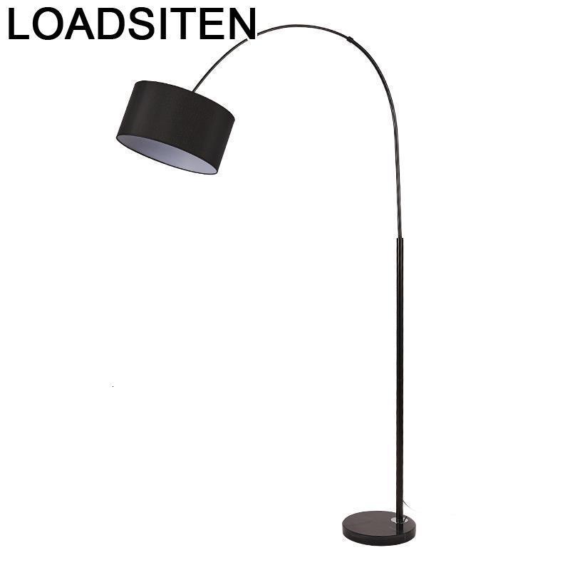 Lámpara De Pie De diseño nórdico Para Sala De estar, lámpara moderna...