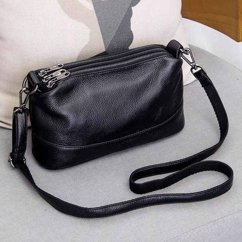 High Quality Genuine Leather Shoulder Bags for Women's 2021 Luxury Handbags Fashion Crossbody Bags F