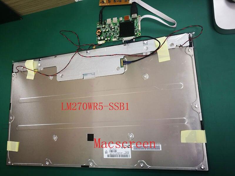 "27 ""4 K original nuevo LM270WR5 SSD1 SS D1 B1 4-lado sin fronteras pantalla LCD Panel de pantalla HD"